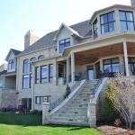 Stone home with beautiful veranda